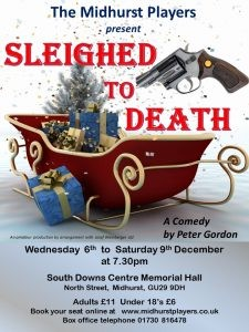 Sleighed to Death